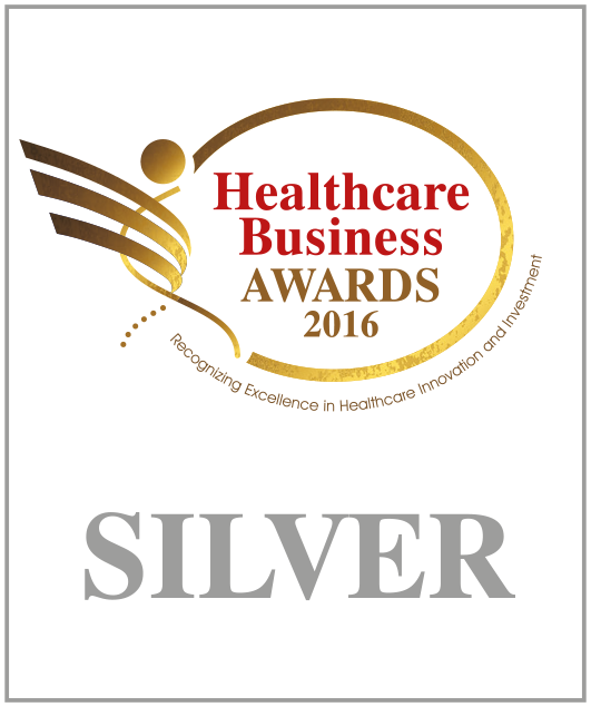 "Silver Award for www.grafimedia.eu at the ""Healthcare Business Awards 2016"