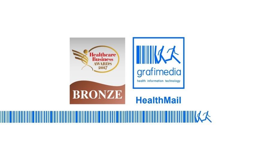 Bronze Award for HealthMail App
